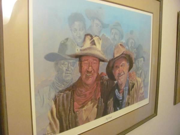 Photo John Wayne Litho - $450 (Scottsdale)