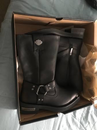 Photo Mens Harley Davidson Boots - $100 (Central)