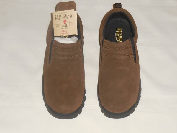 Photo Mens Shoes  Suede Moc Slip-On - Brown - $30 (Baseline and Signal Butte Rds)