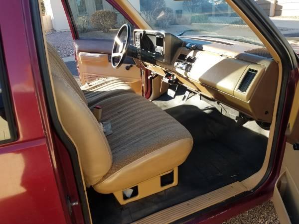 Photo Original 1989 Chevy Silverado 2500 low miles - $8,000 (Sierra Vista)