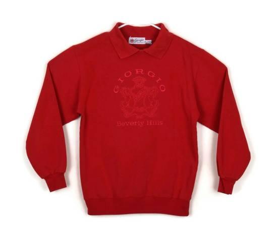 Photo VINTAGE RETRO Ladies Designer 80s, Red, P0L0 Neck, Sweatshirt - $5 (Paradise Valley)
