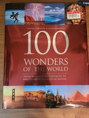 Photo 100 WONDERS OF THE WORLD - Photo  Coffee Table Book - $5 (Papillion)