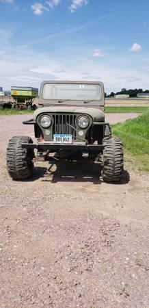 Photo 1989 jeep wrangler 350 v8 engine open headers - $3000 (Sioux Center)