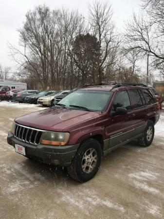 Photo 1999 Jeep Grand Cherokee Laredo - $1699 (Dakota City, NE ( www.odellauto.com)