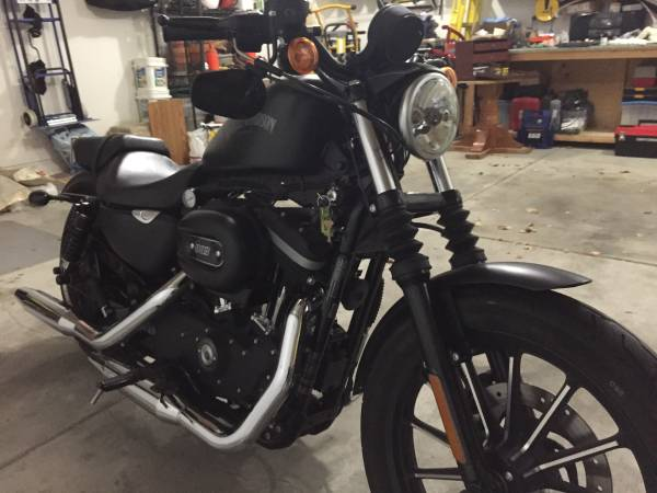 Photo 2012 Harley Davidson XL883N Iron For Sale - $5,500 (Lincoln)