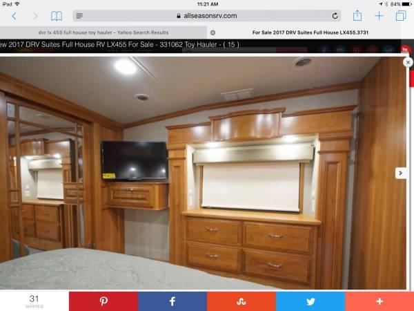 Photo 2018 Drv full house toyhauler - $122,500 (Spencer)