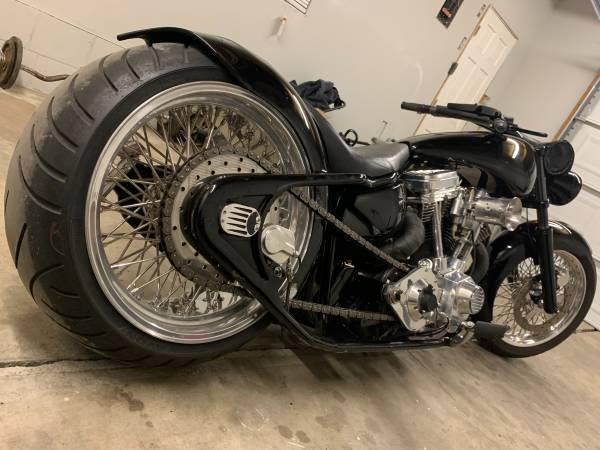 Photo Custom pro street chopper - $15,000 (Lincoln)