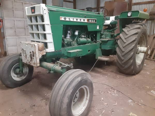 Photo For Sale 1850 DSL Oliver Tractor - $9,000 (Le Mars)