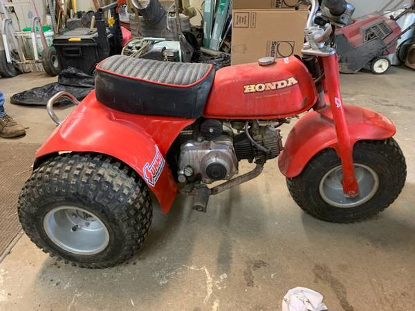 Photo Honda 70 atv (Cb)
