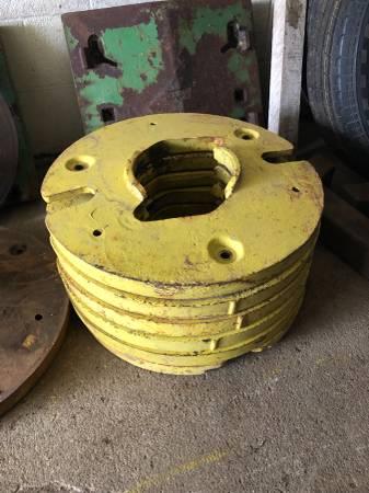 Photo John Deere wheel weights (Marcus)