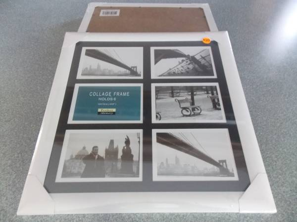 Photo NEW PICTURE PERFECT COLLAGE FRAMES - HOLDS 6 4quot X 6quot PICTURES - $5 (SIOUX FALLS)