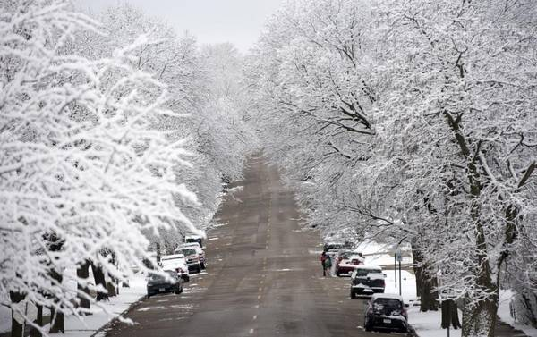 Photo Snow flies as fast as our apartments do Apply Now (1610 C Street, South Sioux City, NE)