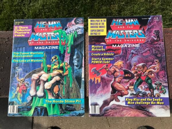 Photo Vintage He-Man and the Masters of the Universe Magazines - $25 (Elkhorn)