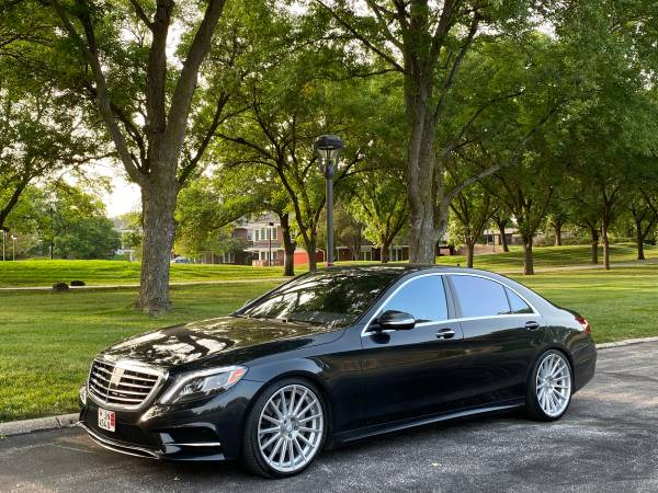 Photo 2016 Mercedes Benz S550 4-Matic - AMG Styling Package - 88K Miles - $38,950 (Omaha)
