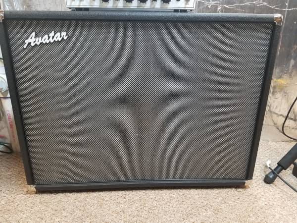 Photo Avatar G212 Speaker Cabinet w Celestion Alnico Blue - $690 (Eagle Lake)