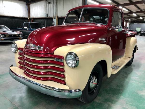 Photo Frame off Restored 1950 Chevrolet 3100 5 Window Pickup 059280 - $29,500 (Sherman, TX)