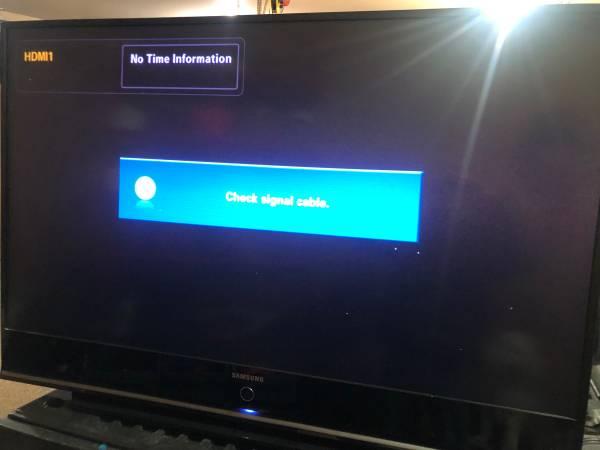 Photo HDTV Samsung 61 DLP High definition TV - $50 (Sioux Falls)