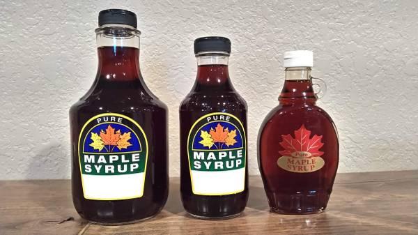 Photo Maple syrup - $15 (New Richland)