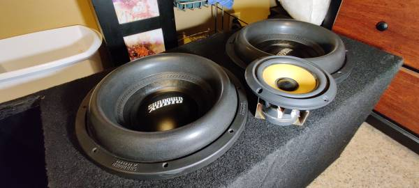 SUNDOWN AUDIO X-12 V.2 D2 SUB PRO 12quot DUAL 2-OHM 1500W RMS BASS SUBWOOFER used - $444 (Sioux Falls)