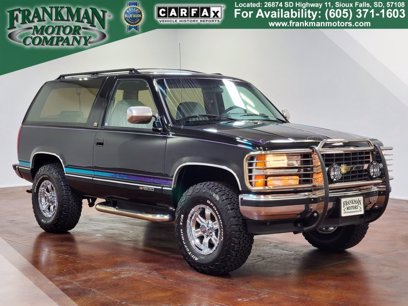 Photo Used 1992 Chevrolet Blazer 4WD for sale