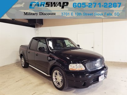 Photo Used 2002 Ford F150 Harley-Davidson for sale