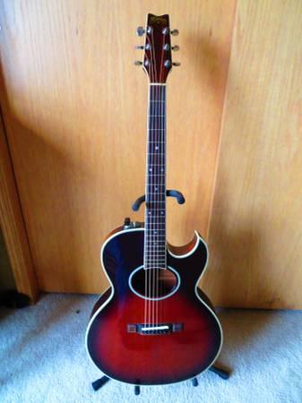 Photo Washburn Acoustic Electric - $300 (Larchwood)