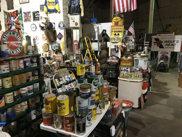 Photo Winter Sale  Oil , Gas , Beer , Farm related items (Little Falls)