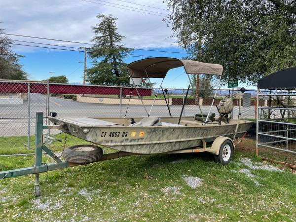 Photo 16 ft Lowe roughneck - $5,900 (Red bluff)