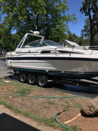 Photo 1989 Searay 268 Boat wTrailer $ or Trade - $15,000 (Chico)