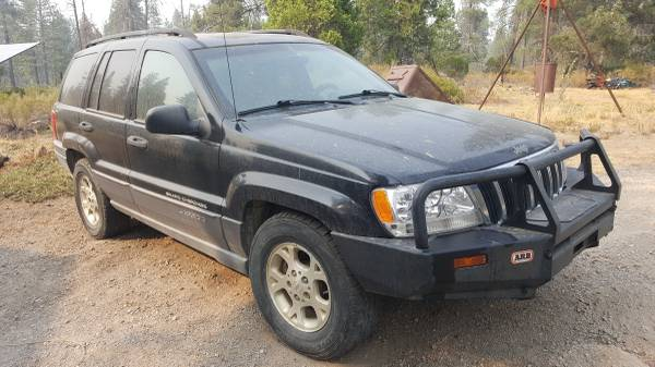 Photo 2001 Jeep Grand Cherokee V-84.7 for parts - $800 (Mccloud)