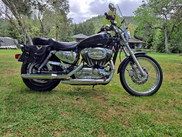 Photo 2004 Harley Davidson Sportster 1200 - $5,600 (Shady Cove, OR)