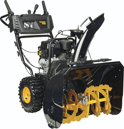 Photo 27 in. 208 cc Two-Stage Electric  manual Start Snow BlowerSnow Throw - $1,450 (Mount Shasta)