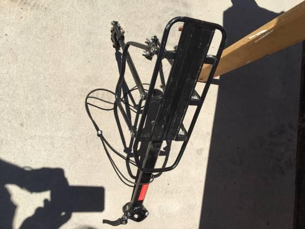 Photo Bike Rack - $20 (Mount Shasta)