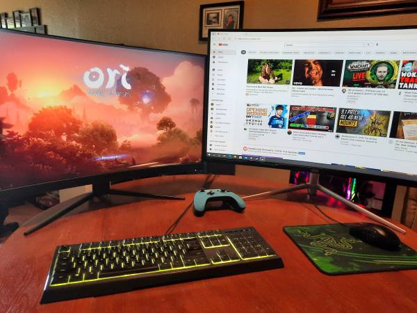 Photo Gaming PC computer set up - $1,300 (redding)
