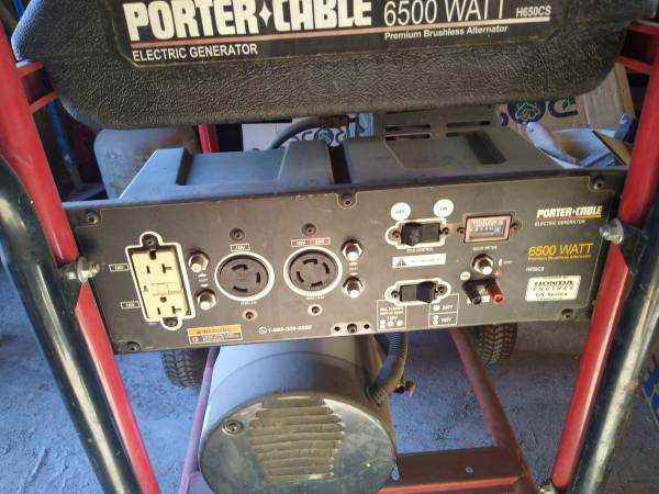 Photo Honda 3500 generator ,porta cable generator - $500 (Montague)