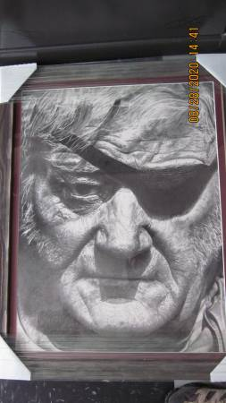Photo John Wayne PEN  INK PRINT - $395 (Grants Pass (Colonial Valley))
