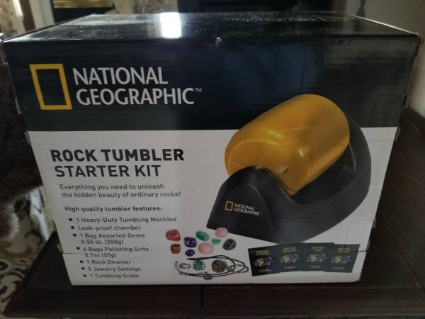 Photo Rock Tumbler (National Geographic - $10 (Redding)