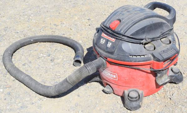 Photo Shop Vac Vacuum Craftsman 12 Gallon Bagless - $40 (Redding)