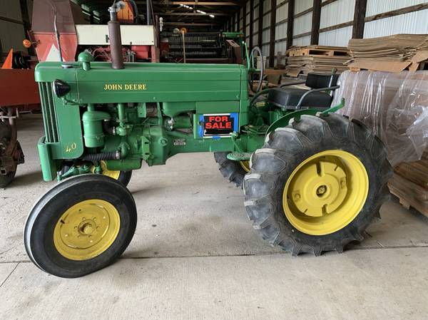 Photo 1953 John Deere 40-S - $4000 (la conner)
