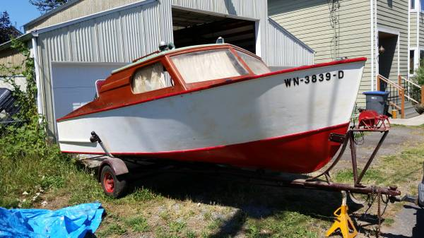 Photo 1959 Vintage Acme Boat with Trailer - $3000 (Mt Vernon)