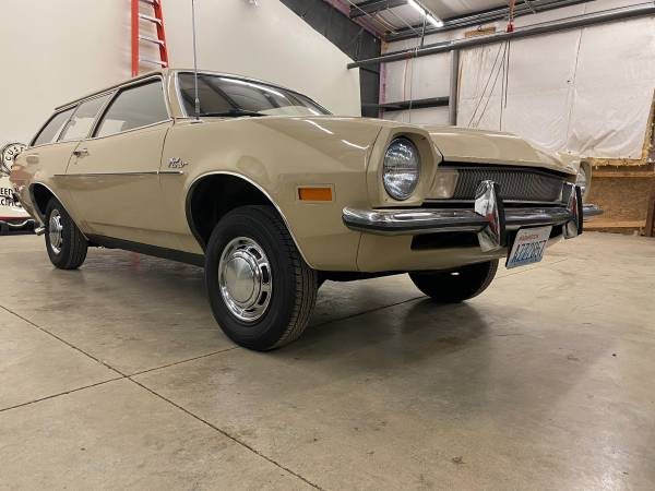 Photo 1972 Ford Pinto 66k original miles - $7,900 (Whidbey Island)