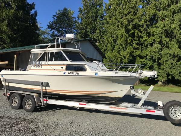 Photo 1974 Glasply Fishing Boat - $16,900 (Bow, WA)