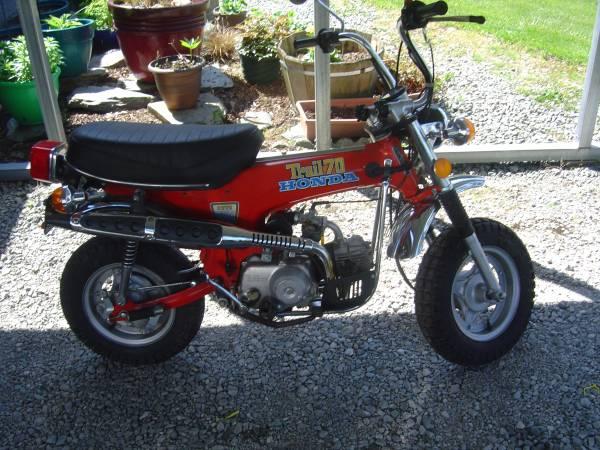 Photo 1976 Honda ct 70 - $2400 (Sedro Woolley)