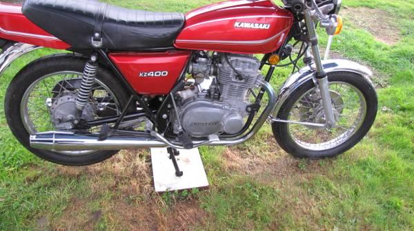 Photo 1978 Kawasaki KZ400 beautiful vintage bike - $1,978 (Anacortes)