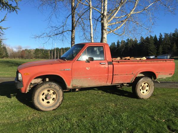 Photo 1983 Toyota 4x4 Truck - $2500