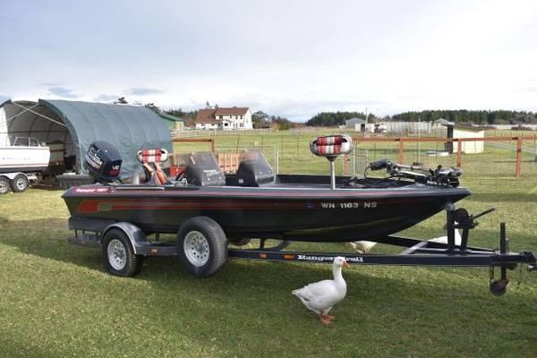 Photo 1993 Ranger Comanche 18 foot BASS Boat - $14,500 (Coupeville, Wa)