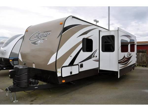Photo 2015 Keystone Cougar X-Lite 31SQB 35 with bunk house - $28,000 (Anacortes)