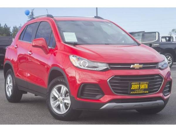 Photo 2018 Chevrolet Trax wagon LT AWD SUV - Red Hot (Chevrolet_ Trax_ wagon_)