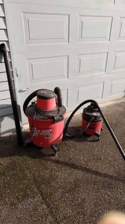Photo 2 Vacuums - Shop Vac  Craftsman vacuum - $15 (Burlington)