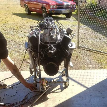 Photo 406 Small Block Chevy and Powerglide - $7,000 (Anacortes)